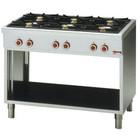 Diamond Diamond Gas Stove | 6 burners and open cupboard