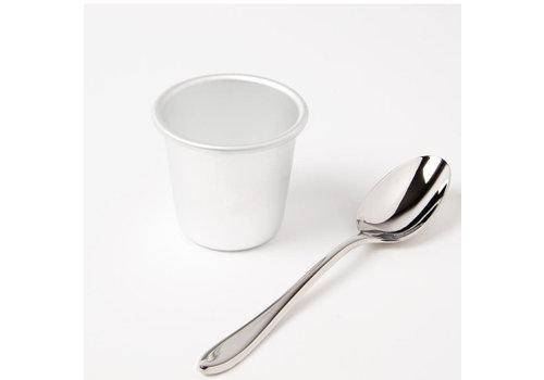 Vogue Aluminum pudding mold 58x50mm 2 sizes