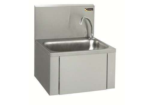 HorecaTraders Stainless steel sink with knee control | Low Water Use