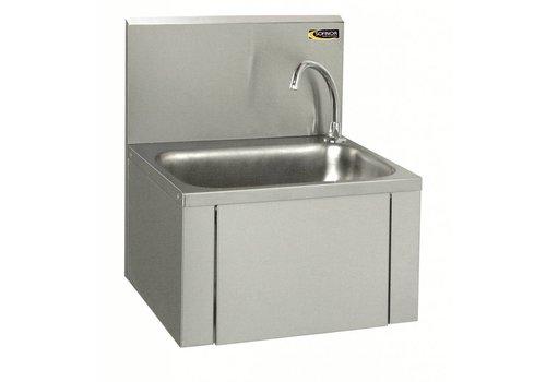 Sofinor Washbasin Knee Control & Soap Dispenser | Stainless steel