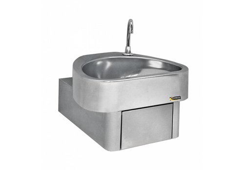 Sofinor Stainless steel sink with knee control | Clinium
