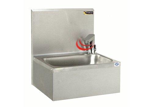Sofinor Edelstahl-Spüle mit Elektro-Kran | Temperatur