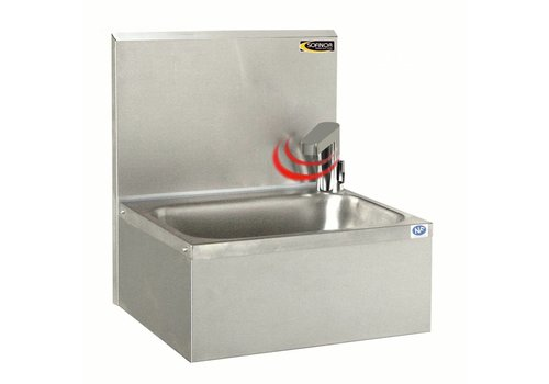 Sofinor Stainless steel sink with electric faucet | Temperature regulation