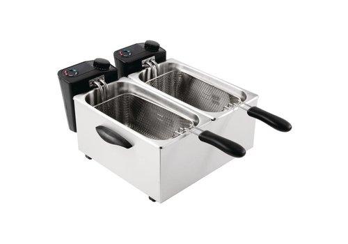 Buffalo Fryer - 2 x 3,5 Liter - COMBI DEAL