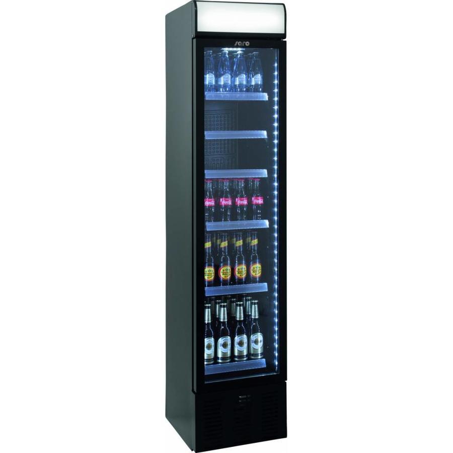 Kaufen Sie eine enge Flasche Kühlschrank mit einer Glastür ...