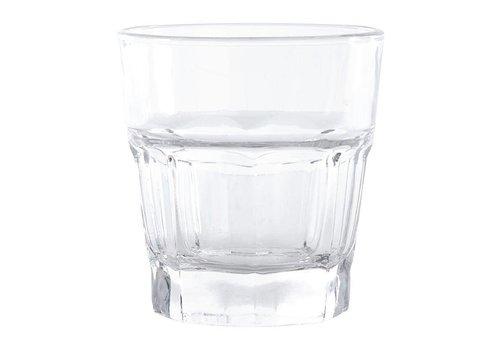 Olympia Trinkglas, Platte, 240 ml (12 Einheiten)
