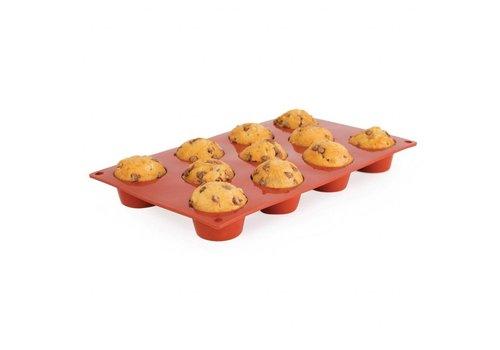 HorecaTraders patisserievorm | 11 mini muffins