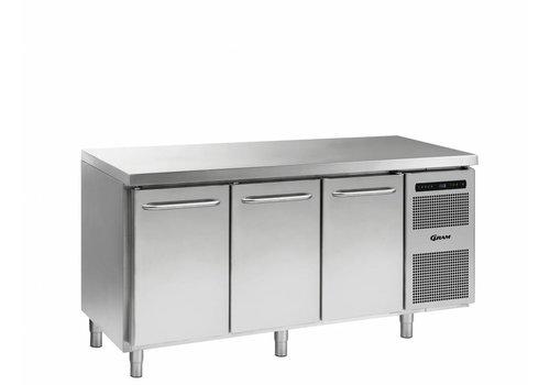 Gram Gram Gastro Freezer Workbench with 3 doors   506 Liter
