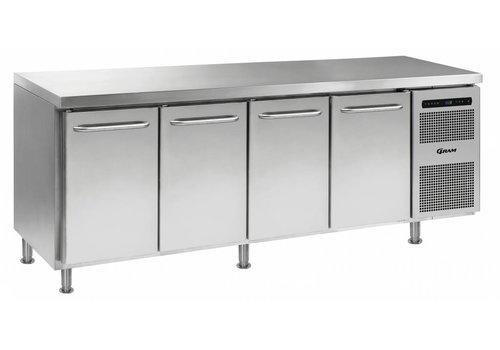 Gram Gram Gastro Freezer Workbench with 4 doors   668 Liter