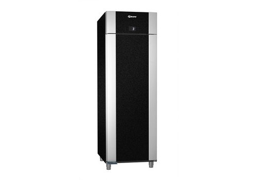 Gram Stainless steel deep cooling black   2/1 GN   610 liters