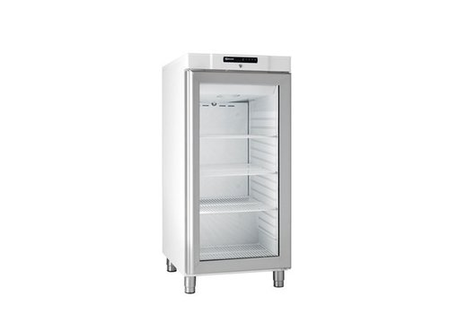 Gram Compact Fridge White With Glass Door | 218 liters