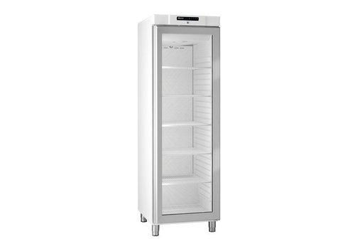 Gram Koelkast Wit Met Glazen Deur 2/1GN | 346 liter