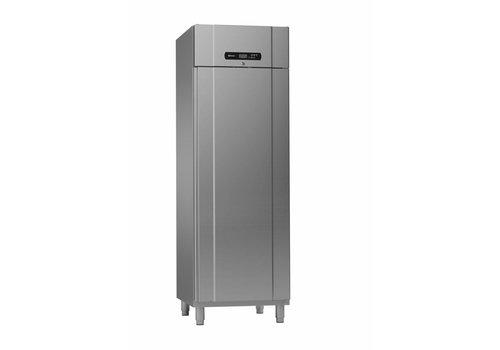 Gram Gram Edelstahl Standardtiefe plus Kühlung | 610 Liter