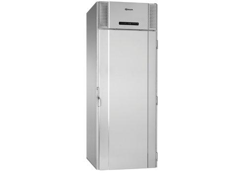 Gram Gram RVS roll-in koelkast met diepte koelingenkeldeurs   1422liter