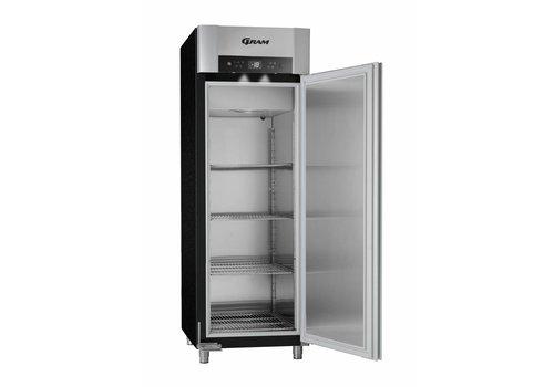 Gram SUPERIOR Freezer - 2/1 GN - Single door - Black