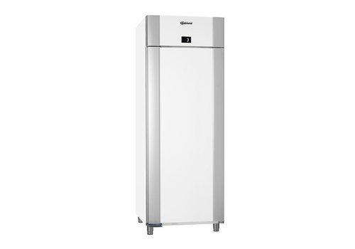 Gram Stainless steel deep cooling single door white 2/1 GN | 614 liters