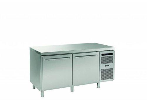 Gram Gram stainless steel refrigerated workbench | 2 doors | 586 liters