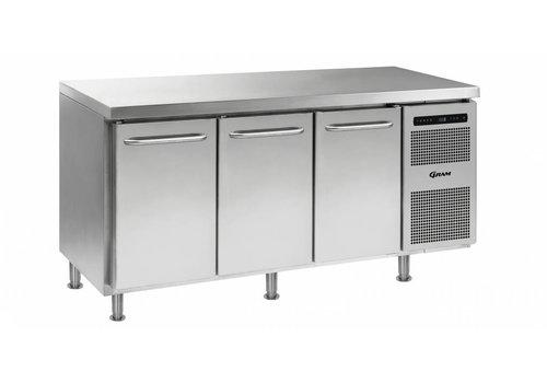 Gram Gram Gastro koelwerkbank 1/1 GN | 3 deurs | 506 liter