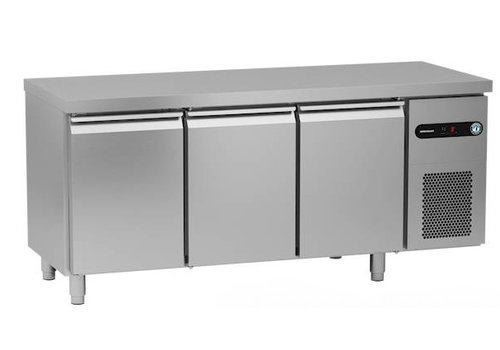 Gram Gram Schneeflocke / Hoshizaki gekühlte Werkbank | 3 Türen | 500 Liter