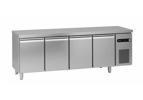 Gram Gram Schneeflocke / Hoshizaki gekühlte Werkbank | 4 Türen | 625 Liter