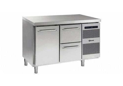 Gram Gram Gastro koelwerkbank | 1 deur | 2 laden | 345 liter