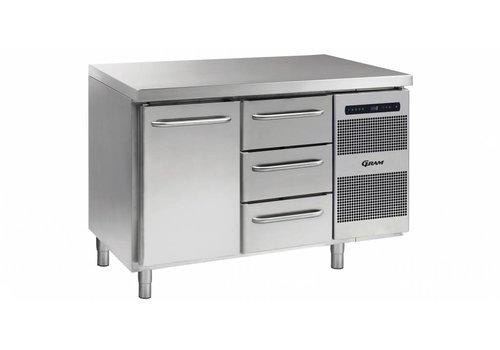 Gram Gram Gastro Kühlwerkbank 1 Tür 3 Schubladen