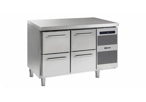 Gram Gram Gastro koelwerkbank | 2 x 2 laden | 345 liter