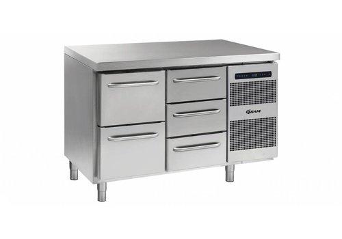 Gram Gram Gastro refrigerated workbench 1 x 2 drawers Load 1 x 3