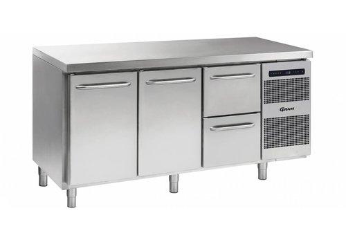 Gram Gram Gastro koelwerkbank | 2 deurs | 2 laden | 506 liter