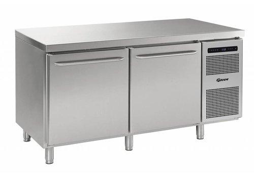 Gram Gram Gastro koelwerkbank | 2 deuren | 586 liter