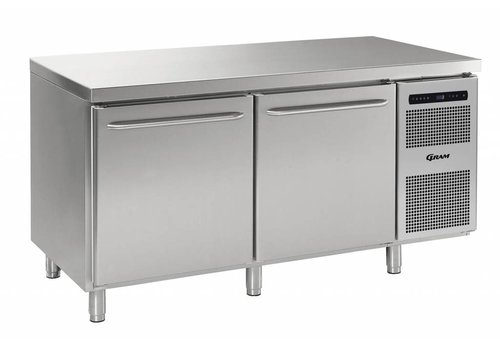 Gram Gram Gastro Kühlwerkbank 2 Türen 586 Liter