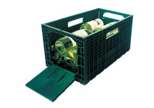HorecaTraders Wine storage box Clement | Green