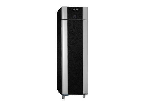 Gram Stainless steel deep cooling single doors black   465 liters