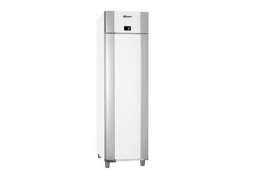 Gram Gram Wit/ RVS koelkast | 465 L