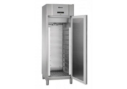 Gram Gram Edelstahl-Kühlschrank mit Trockenbetrieb 400x600mm