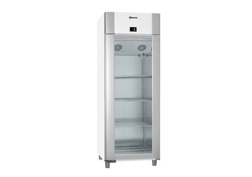 Gram Sparsamer Kühlschrank mit Glastür 2 / 1GN   614 Liter