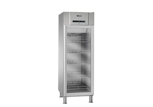 Gram Stainless Steel Refrigerator Glass Door 230Volt | 583 liters
