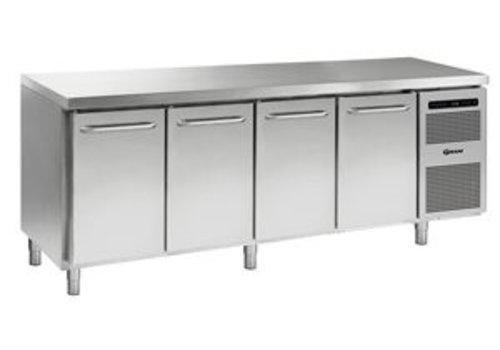 Gram Horeca Kühlwerkbank 4 Türen | 668 Liter