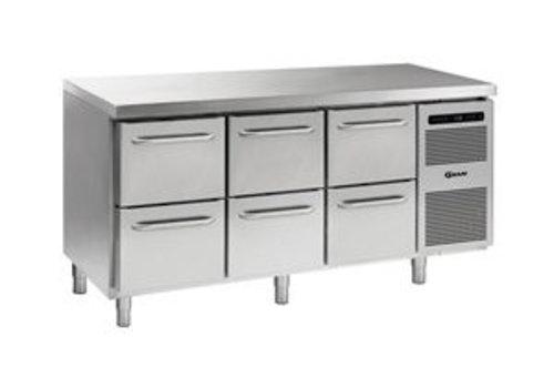Gram Cool Workbench Stainless Steel 6 Loading 506 liters