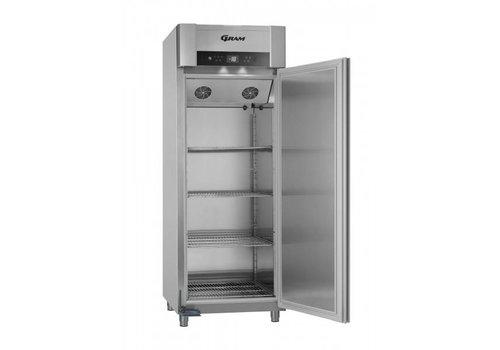 Gram Gram Vario Silver freezer single doors | 2/1 GN | 614 liters