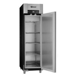 Gram Gram Stainless Steel Freezer Euro Standard Black   465 liters