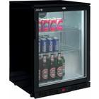 Saro 1 Door Black Bottle Refrigerator   85 cm high