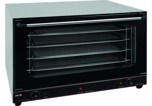 Saro Hot air oven with 4 bins 435 x 315 mm