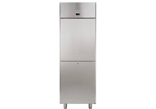 Electrolux Professional Stainless steel freezer 670 liter - 2 half door