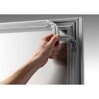 Gram Vario Silver freezer single door   407 liters