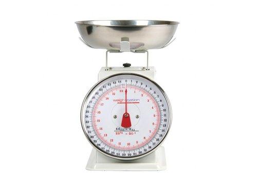 HorecaTraders Küchenwaage Removable 5/10/20 kg