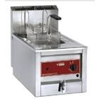 Diamond Edelstahl Gas Fryer | 12 Liter | Bis zu 190 ° C | Incl. Entleerventil