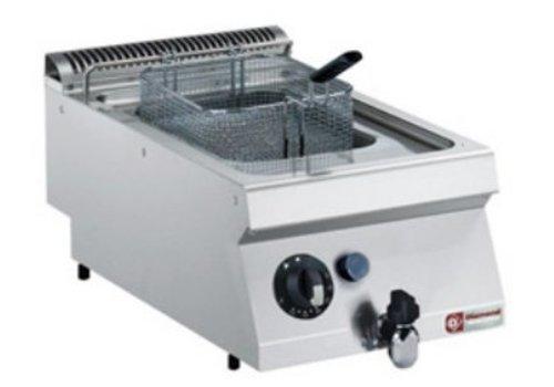 Diamond Friteuse Gas RVS | 7 Liter | Met Koudezone | 120°C en 190°C