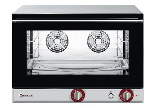 Hendi Hot air oven with steam function 4 x 1/1 GN
