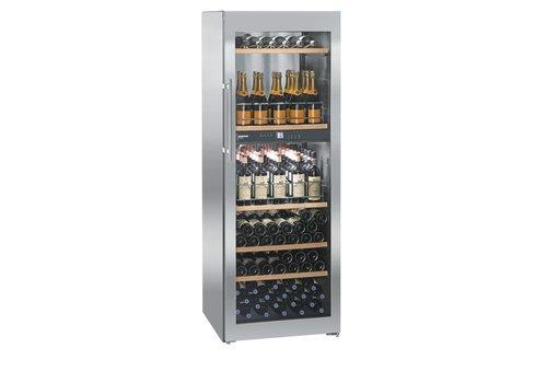 Liebherr WTpes5972-20   Wine Closet Stainless Steel 155 Bottles   Liebherr